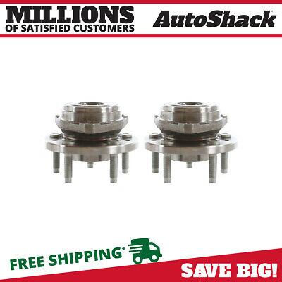 Set of 2 New Wheel Hub Bearing Assembly Front Pair For 1999-2003 Ford Windstar