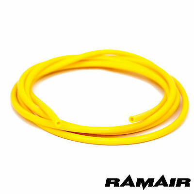 Ramair Silicone 6mm ID x 3m Vacuum Hose - Turbo - Coolant Pipe Line Yellow