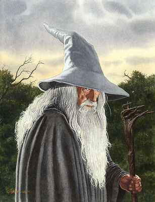 Gandalf Lord Of The Rings Art Print #1