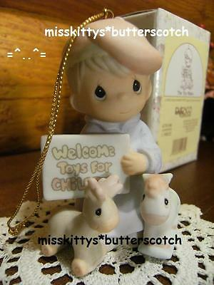 Precious Moments~ORNAMENT~475106~RARE~SIGNED~The Toy Maker~Chapel Exclusive~