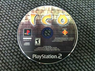 Ico  (Sony PlayStation 2, 2001)DISC ONLY