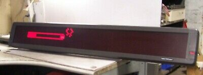 """Emc Aspect 4160R120 Programmable Scrolling Telecaster Electric Info Sign 52""""x8"""""""