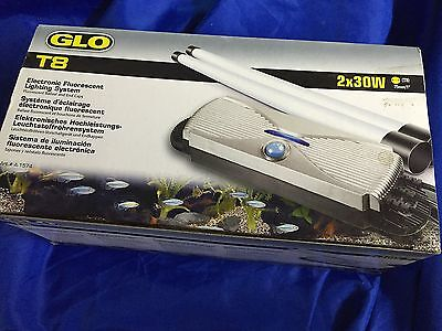Hagen Glo T8 Aquarium Lighting Starter Unit Ballast Twin 30W