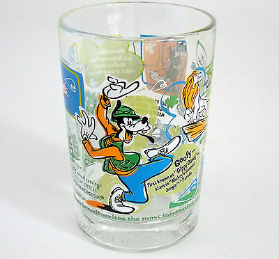WALT DISNEY 'GOOFY' GLASS 100yrs OF MAGIC COLLECTABLE