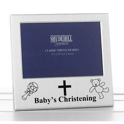 Baby's Christening Photo Frame Keepsake Gifts Memories Home Decorations Decor