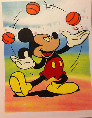 Cel Mickey Mouse Hand Painted Animation Cartoon Art Juggling Disney 1a