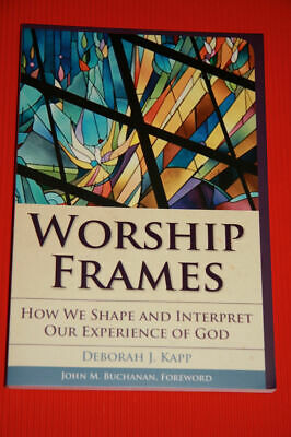 """Worship Frames: How We Shape and Interpret Our Experience of God"" *NEW* by Kapp"