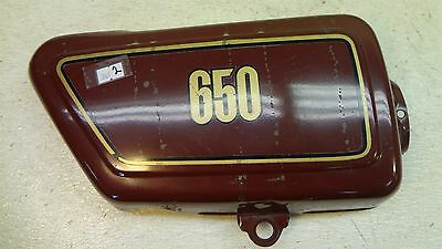 Yamaha XS650 XS 650 Y361' right side body cover trim panel #2