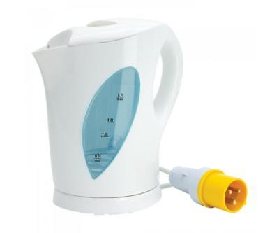 110V Building Site Hot Water Kettle with Yellow Plug for Use with Transformer