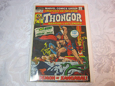 Thongor Creatures On The Loose No.22 Mar  Vintage Marvel  Comic   T*