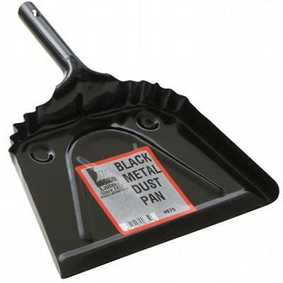 Cequent Laitner Company 675 12 in. Black Metal Dust Pan