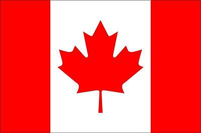Canada Flag 3 x 2 FT - 100% Polyester With Eyelets - Maple Leaf Canadian Country