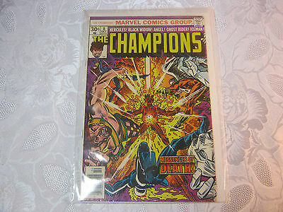 The Champions  No.8  Oct  Vintage Marvel Comic   T*