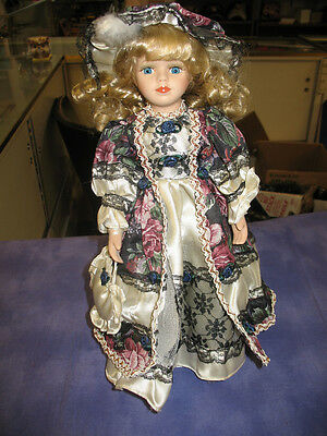 Cathay Collection Porcelain Victorian Doll - Beautiful