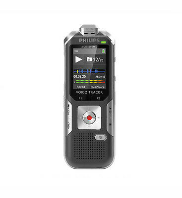 Philips DVT6000/00 Voice Tracer DVT6000 4GB Digital Voice Recorder - 4 GB