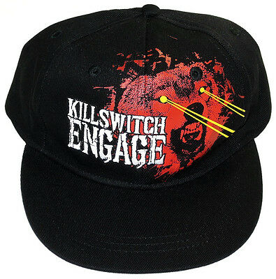 """KILLSWITCH ENGAGE CAP/HAT """"Wolf"""" Black KSE Authentic Licensed NEW"""
