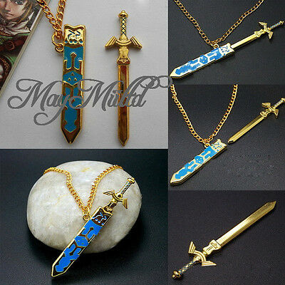 Legend of Zelda Removable Master Sword Necklace Pendant With Gift HOT S