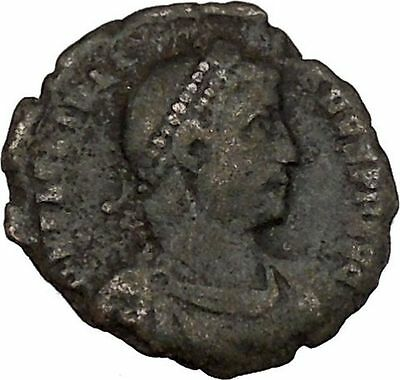 JULIAN II the APOSTATE as Caesar with globe & spear Ancient Roman Coin i42456