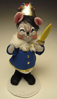 Annalee Christmas 2014 Mobility 8 inch Rat King Mouse 650514 with Squint Eyes