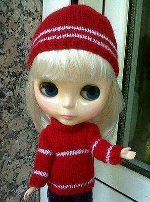Gorro + Suéter. Hat + Sweater. Capot + Pull. Neo Blythe.