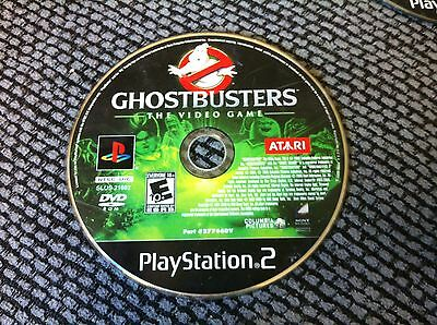 Ghostbusters: The Video Game  (Sony PlayStation 2, 2009)DISC ONLY