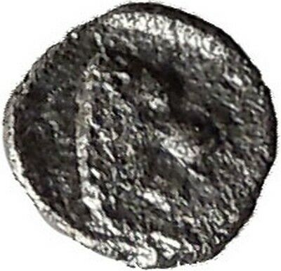 CARIA Uncertain Greek City 4th Century BC Lion Ram Ancient Silver Coin i38812
