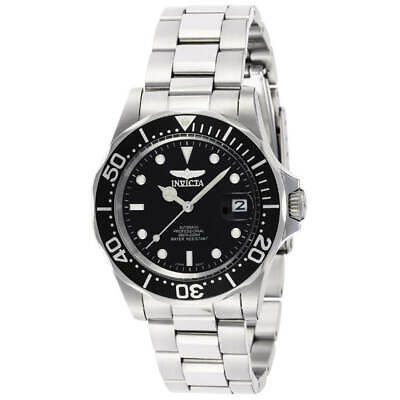 Invicta 8926 Mens Black Dial Automatic Stainless Steel Dive Watch