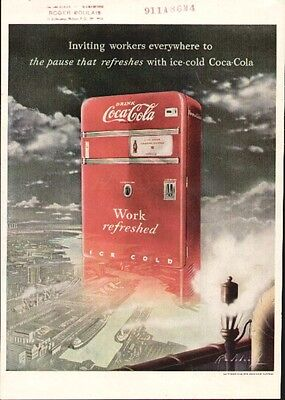Coca Cola ad from Life Jan 10th 1949