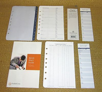 Classic Size | *NEW* FRANKLIN COVEY Accessory Pack Pad Refill Planner/Binder