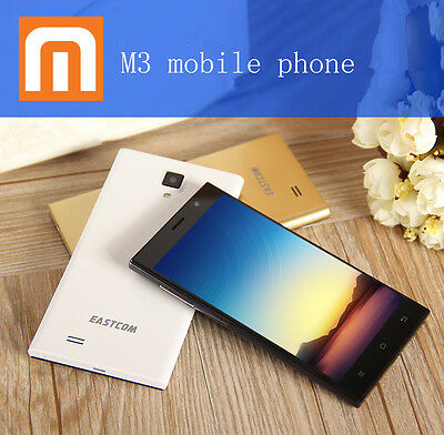 "5"" Touch Dual Sim 3G Dual Core Android 4.2 Mobile Phone Smartphone Unlocked"