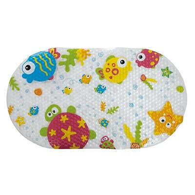 Tippitoes Anti Slip Bath Mat (Seaside Characters) Baby Bathing Accessory