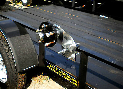 Heavy Duty Steel Spare Tire and Hub Carrier Mount Holder 5 Bolt UHI 3500 Trailer
