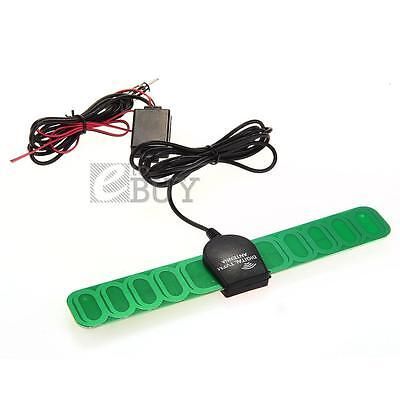 Car Vehicle AM/FM Radio Antenna Aerial Signal Amplifier Booster DC 12V