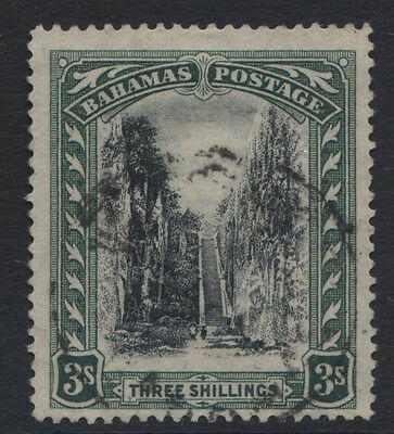 Bahamas- 1911/19 Wmk. Mca Staircase 3/-, Fine Used. Sg.80  (Ref.a5)