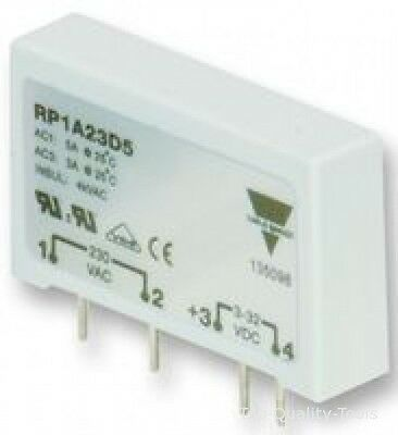 Solid State Relay, SPST, 5 A, 265 Vrms, PCB, Through Hole, Zero Crossing