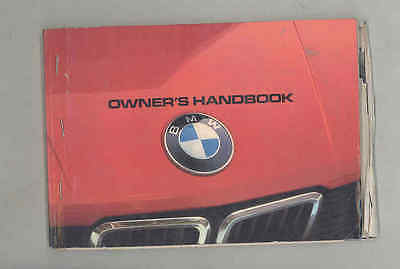 1982 BMW 528e ORIGINAL Owner's Manual wu4340