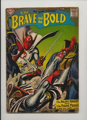 Brave and the Bold #18 (1958) Very Good (4.0) Grey Tone Cover