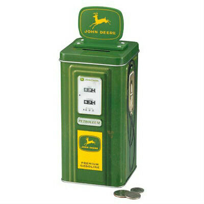 JOHN DEERE GAS PUMP BANK TIN - NEW!!!