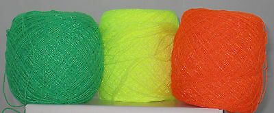 Crochet Crystal Thread Yarn from Mexico Set 2 Various Colors Available 100 grams
