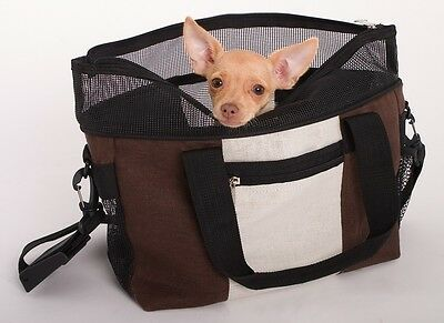 HEMP PET CARRIER - WITH CUSHION, BLANKET & TRAVEL BOWL - by DOGGLES