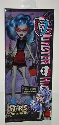 New! Monster High Scaris City Of Frights Ghoulia Yelps Daughter Of The Zombies