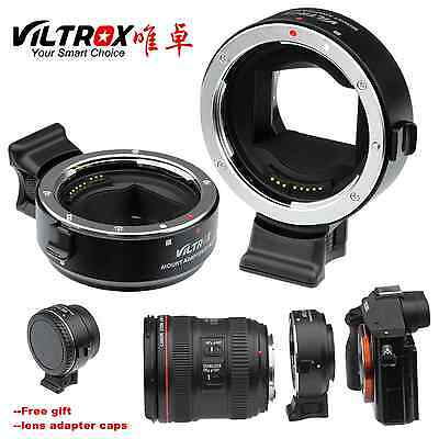 Viltrox AF EF-NEX III Lens Adapter for Canon EF to Sony NEX A6300 A7RII A7SII A7