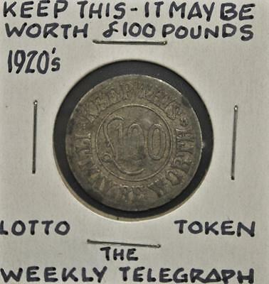 Weekly Telegraph Lotto Token