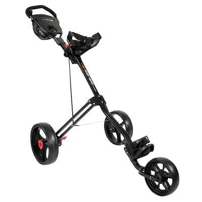 Masters Golf 2017 5 Series 3 Wheel Trolley (Black)