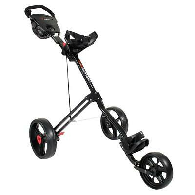 Masters Golf 5 Series 3 Wheel Trolley (Black)