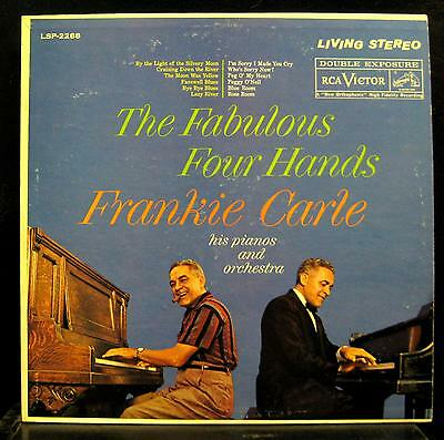 FRANKIE CARLE the fabulous four hands LP VG+ LSP-2288 Living Stereo Vinyl Record
