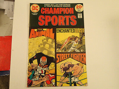 CHAMPION SPORTS #2 Jan. 1974 DC Comics F/VF