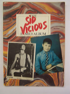 The Sid Vicious Family Album Photo Book