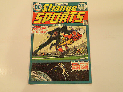 STRANGE SPORTS STORIES #3  Feb. 1974 DC Comics VF