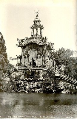 ND, France, Paris, Exposition Universelle de 1900. Le Palais Lumineux  Vintage s